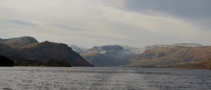 Ullswater from the Steamer on a cold January morning
